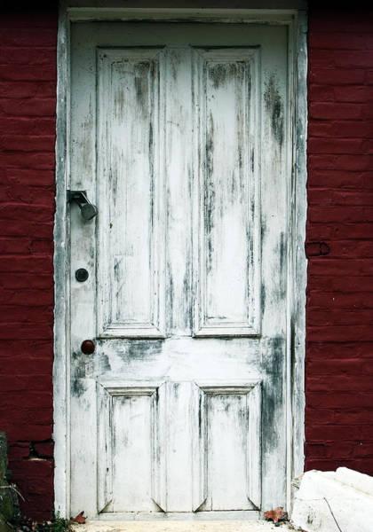 Photograph - White Door by John Rizzuto