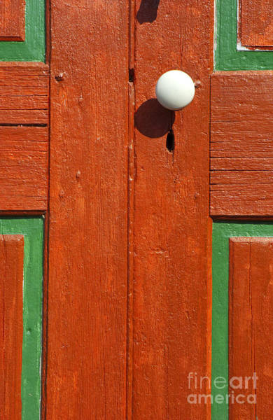Wall Art - Photograph - White Door-knob - 2 by Paul W Faust -  Impressions of Light