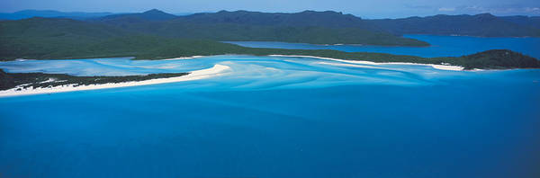 Faint Wall Art - Photograph - White Heaven Beach Great Barrier Reef by Panoramic Images