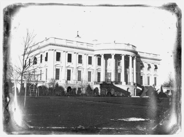 Photograph - White House, C1846 by Granger