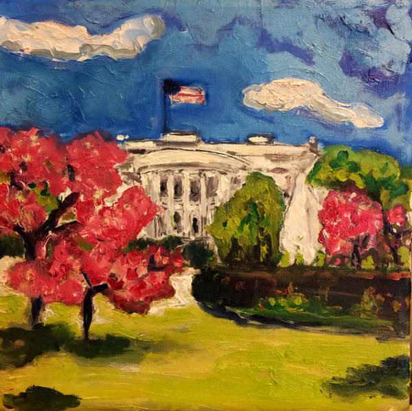 Painting - White House by Dilip Sheth