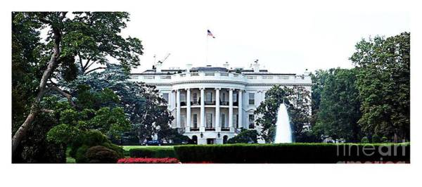White House Photograph - White House by Mike Baltzgar