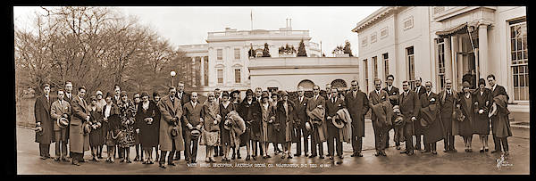 Member Of Congress Wall Art - Photograph - White House Reception, American Opera by Fred Schutz Collection