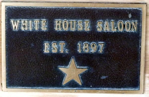 Photograph - White House Saloon by Jeff Lowe