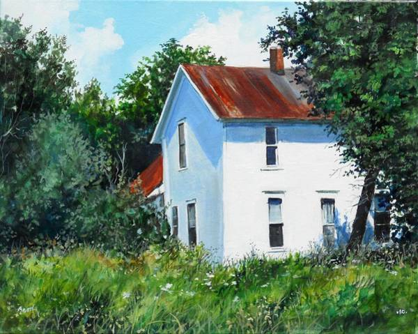 Painting - White House by William Brody