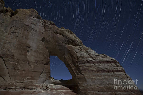 Photograph - White Mesa Arch by Keith Kapple