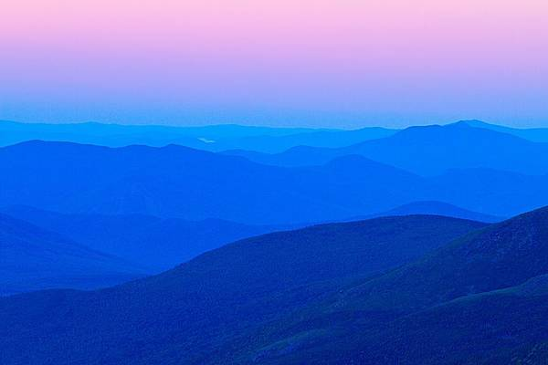 Photograph - White Mountain Layers by Jeff Sinon