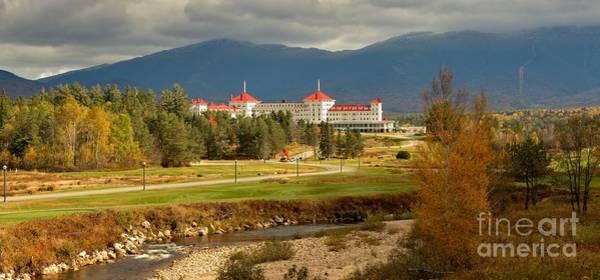 Photograph - White Mountain Luxury Resort Panorama by Adam Jewell
