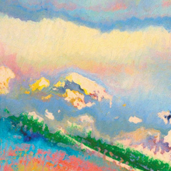 Wall Art - Painting - White Mountain by The Art of Marsha Charlebois