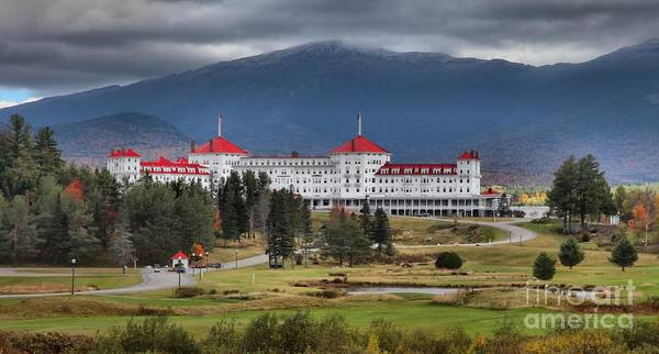 Photograph - White Mountains Omni Resort by Adam Jewell