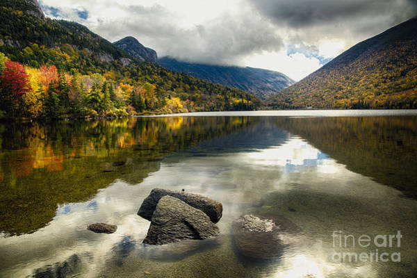 Franconia Notch Wall Art - Photograph - White Mountains Solitude by George Oze