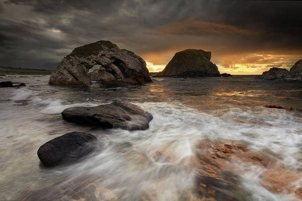 County Antrim Wall Art - Photograph - White Park Bay, Co Antrim by Northern Irish Photography