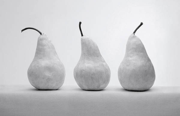 Wall Art - Photograph - White Pears by Krasimir Tolev