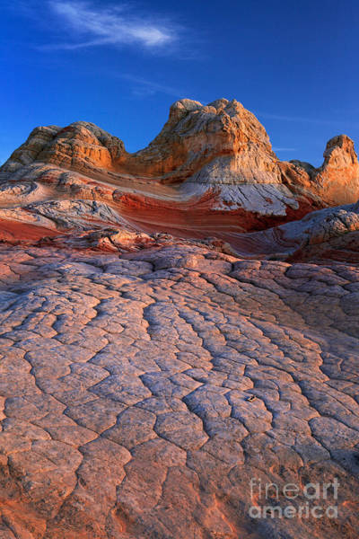 Vermilion Cliffs Wall Art - Photograph - White Pocket Afterglow by Inge Johnsson