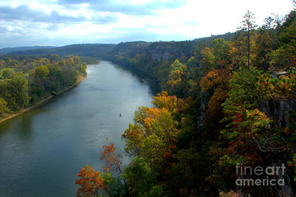 Photograph - White River 1 by Jim McCain