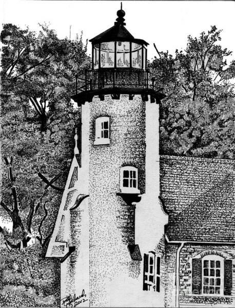 White River Station Art Print