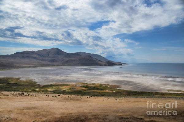 Photograph - White Rock Bay Antelope Island by Donna Greene