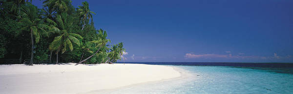 Leisurely Photograph - White Sand Beach Maldives by Panoramic Images