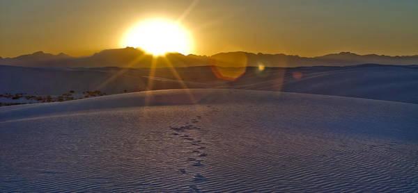 Digital Art - White Sands 6 by Lou  Novick