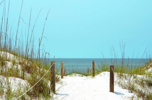 Wall Art - Photograph - White Sandy Beach I by Gail Peck