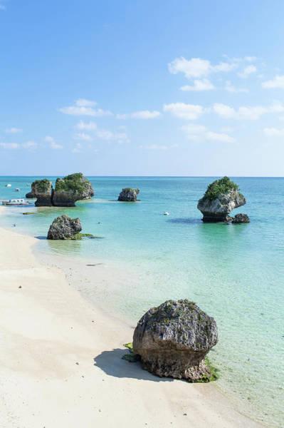 Okinawa Photograph - White Sandy Tropical Beach, Okinawa by Ippei Naoi