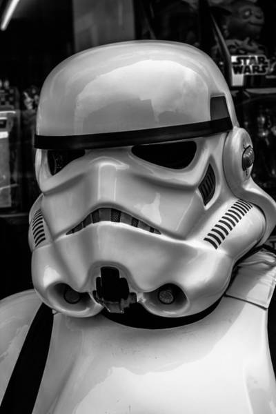 Popular Culture Photograph - White Stormtrooper by David Doyle