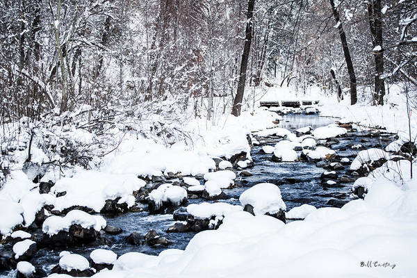 Flagstaff Photograph - White Stream by Bill Cantey