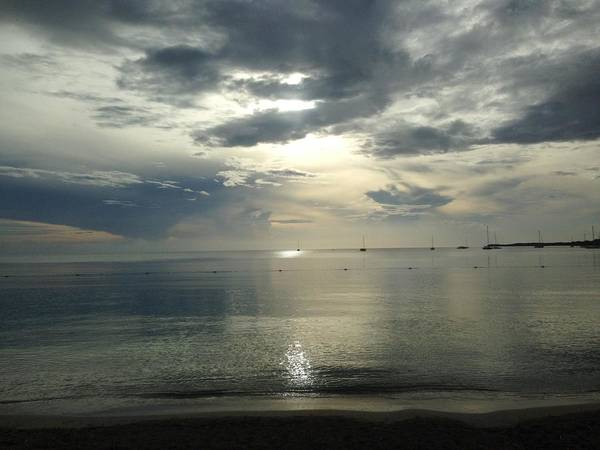 Photograph - White Sunset by Felix Zapata