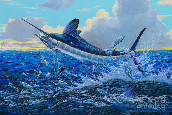 Kona Painting - White Surprise Off0050 by Carey Chen