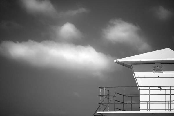 Photograph - White Tower White Cloud by Peter Tellone
