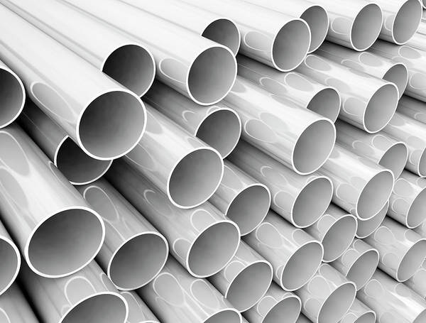 Wall Art - Photograph - White Tubes by Jesper Klausen / Science Photo Library