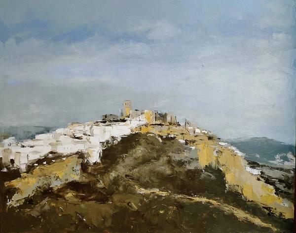 Painting - White Village/spain by Karina Plachetka