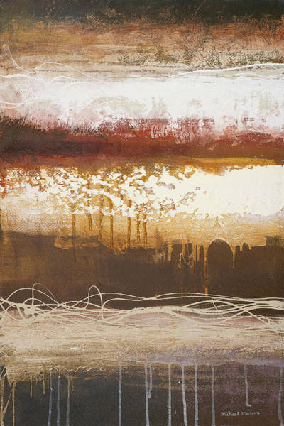 Wall Art - Painting - White Wahn II by Michael Marcon