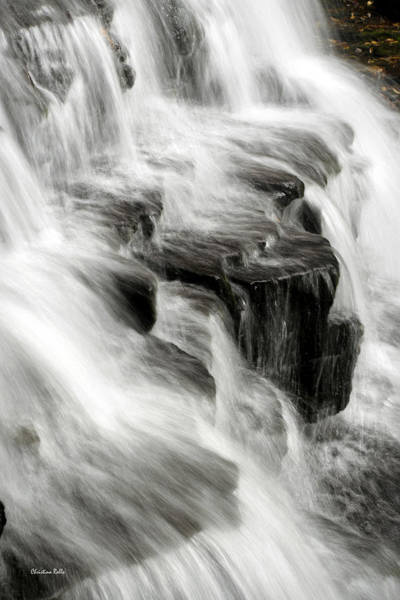 Photograph - White Water Falls by Christina Rollo