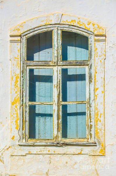 Paint Chips Photograph - White Window by Carlos Caetano