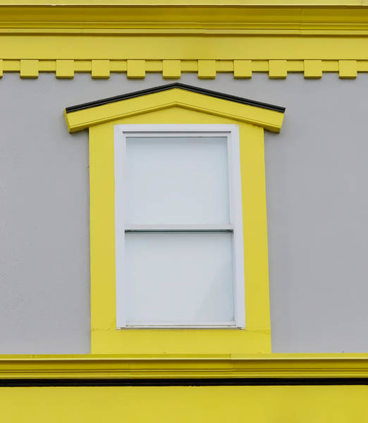Photograph - White Window Surrounded By Color by Gary Slawsky