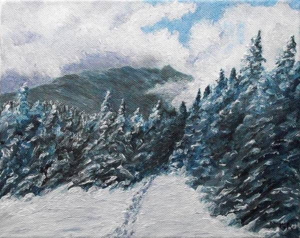 Adirondack Mountains Painting - Whiteface From Esther by Gary Adams