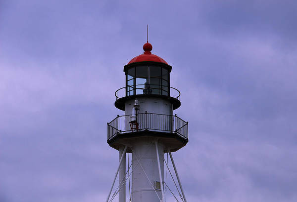 Photograph - Whitefish Point Lighthouse 2 by Rachel Cohen