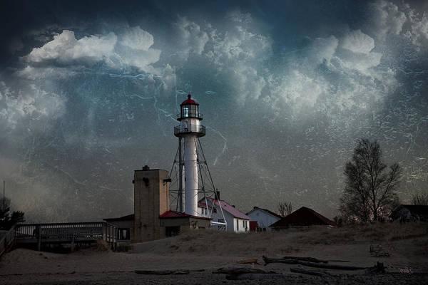 Whitefish Point Lighthouse Lake Superior Art Print