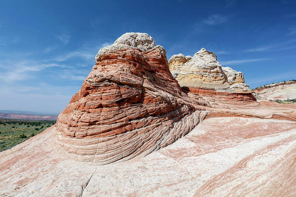 Vermilion Cliffs National Monument Wall Art - Photograph - Whites Sandstone Buttes by Michael Szoenyi