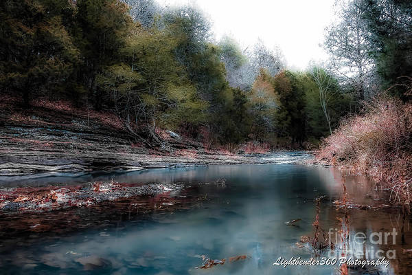 Photograph - Whitewater Creek by Larry McMahon