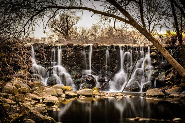 Photograph - Whitnall Park Waterfall by Randy Scherkenbach