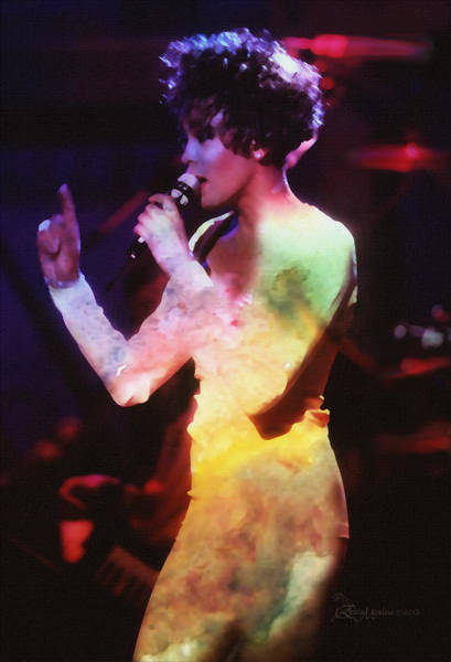 Photograph - Whitney Houston by Ericamaxine Price