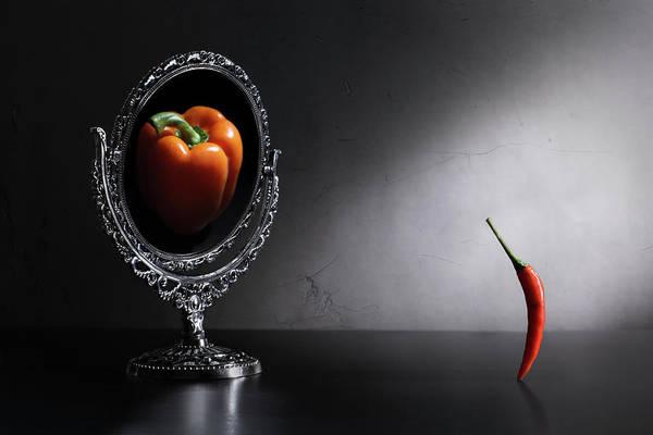 Mirror Mirror Wall Art - Photograph - Who Am I? by Victoria Ivanova