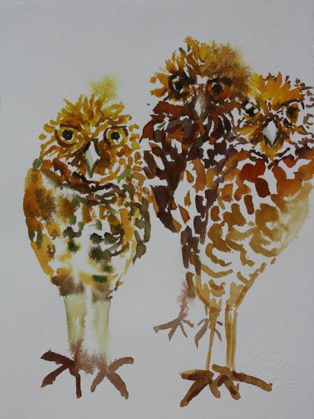 Painting - Who Me by Tara Moorman
