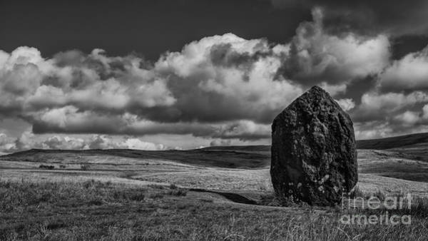 Monolith Photograph - Who Put That There? by Nigel Jones