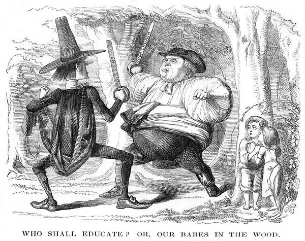 Babe Drawing - Who Shall Educate? Or, Our  Babes by Mary Evans Picture Library