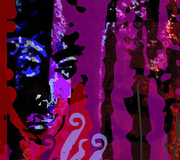 Wiese Digital Art - Who Turned The Music Off? by Wendy Wiese