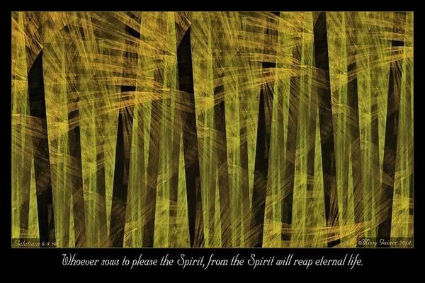 Digital Art - Whoever Sows by Missy Gainer