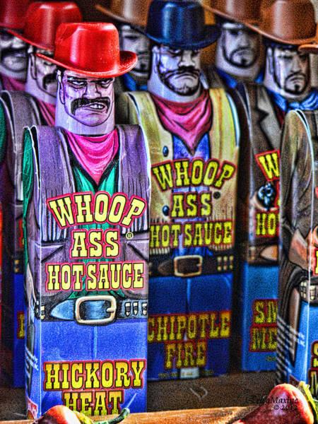 Photograph - Whoop Ass Hot Sauce by Ericamaxine Price